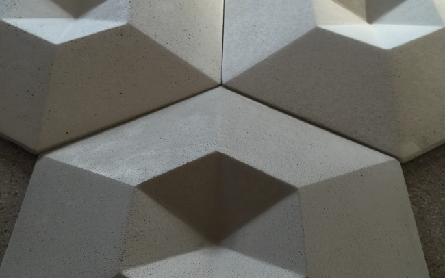 Blue star 88 creators of contemporary concrete products for 3d concrete tiles